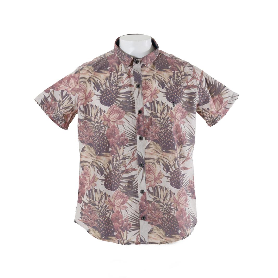 Camisa Plana Floral