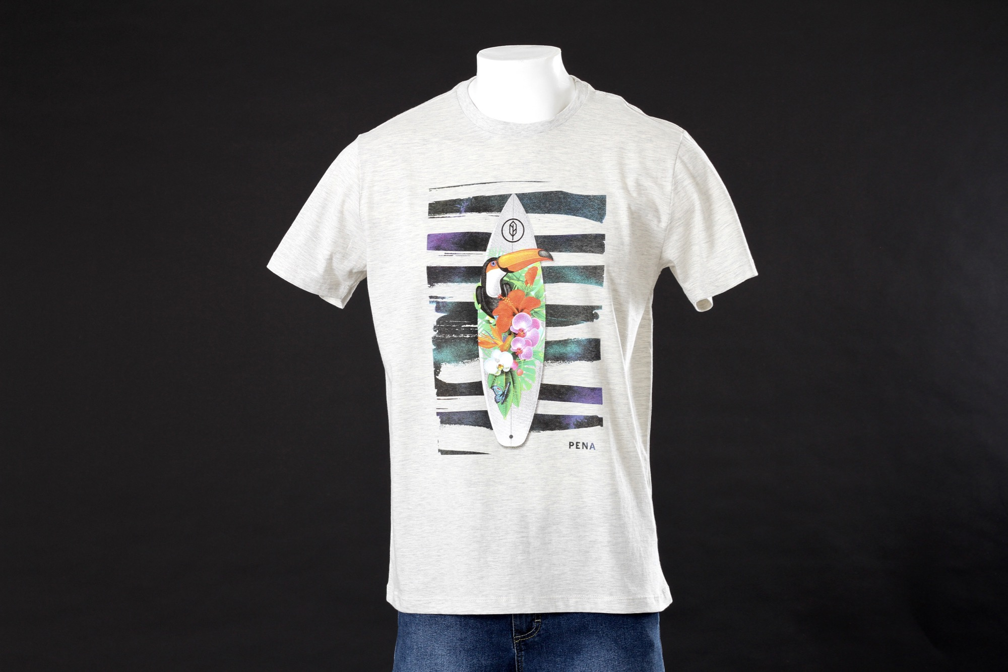 Camiseta Tropical Surf