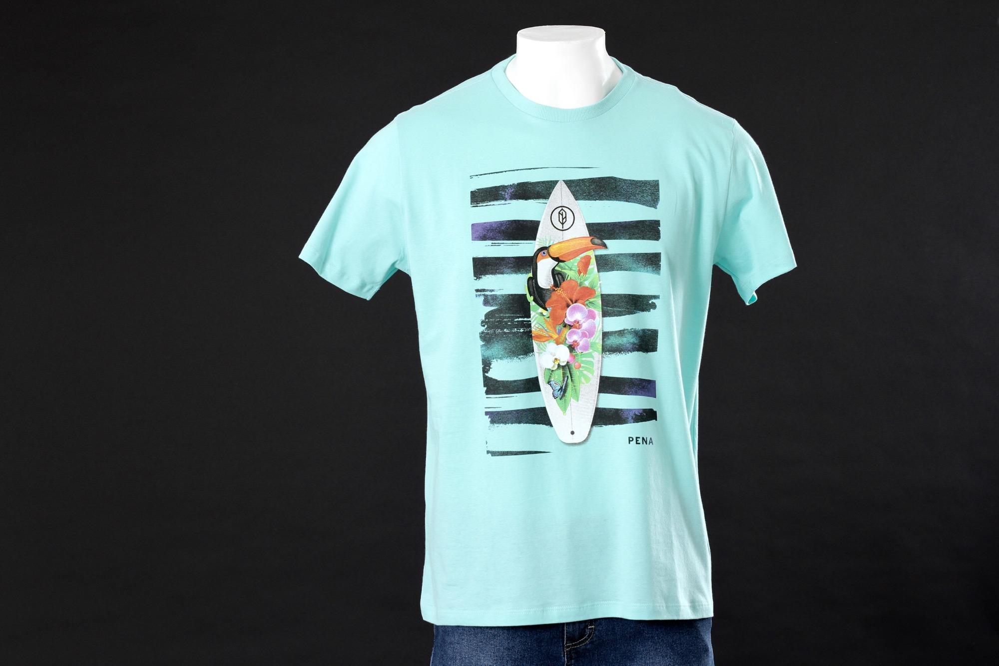 Camiseta Tropical Surf - Pena Store 86f5c57f37c