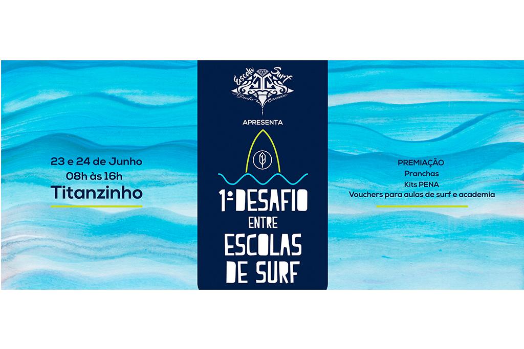 Desafio entre Escolas de Surf - Pena Store 8d63ae3d3d5