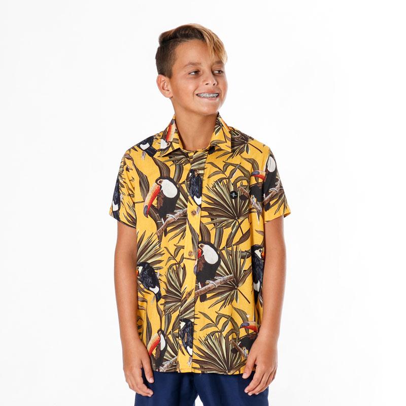 Camisa Inf Juv Crowd Pena